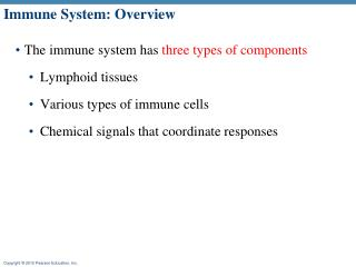 Immune System: Overview