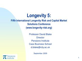 Longevity 5:  Fifth International Longevity Risk and Capital Market Solutions Conference longevity-risk