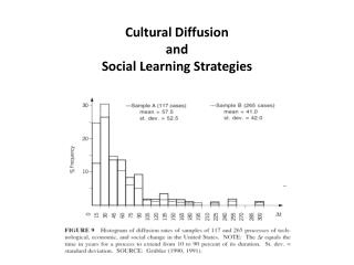 Cultural Diffusion and Social Learning Strategies