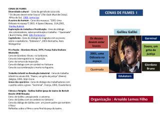 CENAS DE FILMES  I
