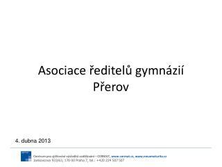 Asociace ředitelů gymnázií Přerov