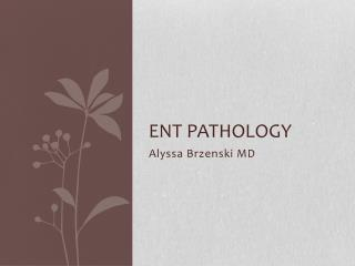 ENT Pathology