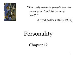 Personality Chapter 12
