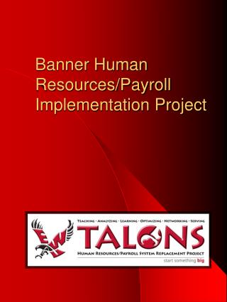 Banner Human Resources