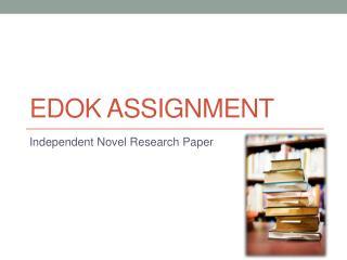 EDOK Assignment