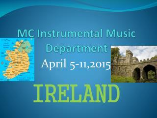 MC  Instrumental Music Department
