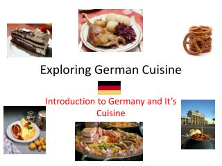 Exploring German Cuisine