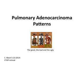 Pulmonary Adenocarcinoma Patterns