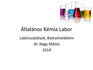 Általános Kémia Labor
