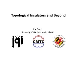 Topological Insulators  and Beyond