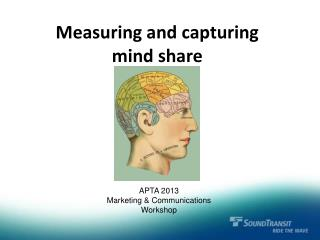Measuring and capturing mind share