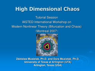 High Dimensional Chaos