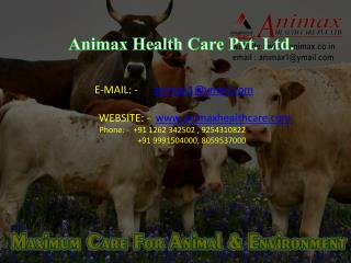 Animax Health Care Pvt. Ltd.