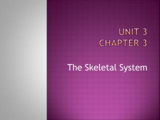 Unit 3 Chapter 3