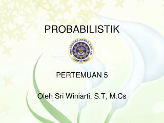 PROBABILISTIK