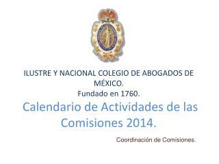 Coordinación de Comisiones.