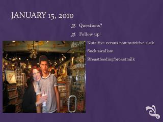 January 15, 2010