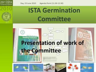 ISTA Germination Committee