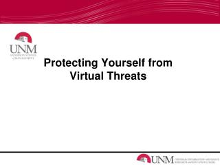 Protecting Yourself from Virtual Threats