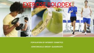 Exercise Rolodex