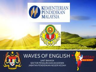 WAVES OF ENGLISH