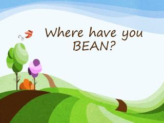Where have you BEAN?
