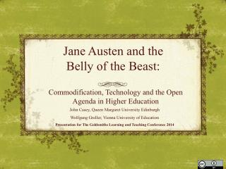 Jane Austen and the  Belly of the Beast:
