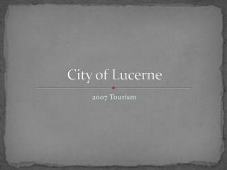 City of Lucerne