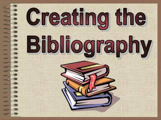 To learn how to write a correct bibliography for: Books Magazines Encyclopedias Internet Sources Interviews