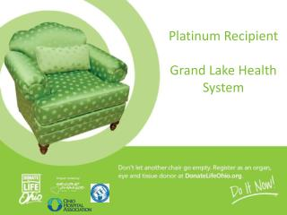 Platinum Recipient Grand  Lake Health  System