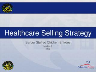 Healthcare Selling Strategy