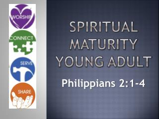 Spiritual maturity  Young adult