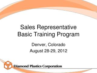 Sales Representative  Basic  Training  Program