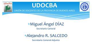 UDOCBA UNIÓN DE DOCENTES DE LA PROVINCIA DE BUENOS AIRES