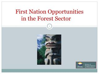 First Nation Opportunities  in the Forest Sector