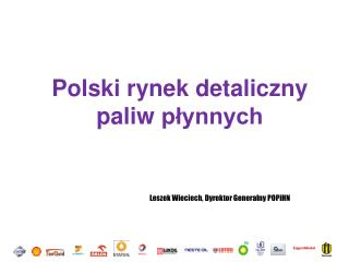 Polski rynek detaliczny paliw  płynnych
