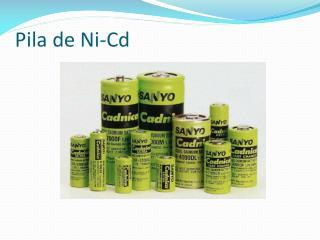 Pila de Ni-Cd
