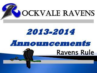 Ravens Rule
