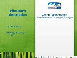 Pilot  sites description