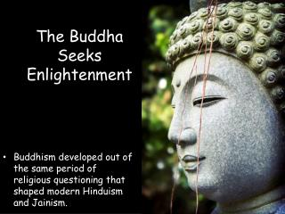 The Buddha Seeks Enlightenment