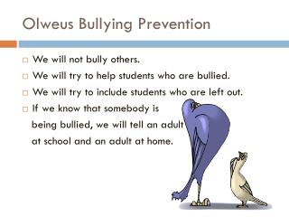 Olweus Bullying Prevention