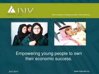 Empowering young people to own their economic success.
