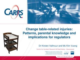 Change table-related injuries: Patterns, parental knowledge and implications for regulators