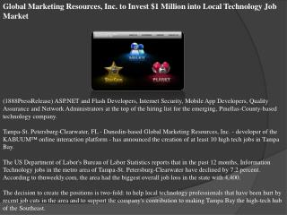 Global Marketing Resources