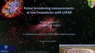 Pulsar broadening measurements  at low frequencies with LOFAR