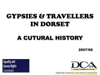 GYPSIES  TRAVELLERS  IN DORSET