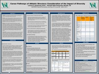 Career Pathways of Athletic Directors: Consideration of the Impact of Diversity