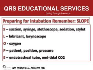 QRS EDUCATIONAL SERVICES