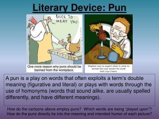 Literary Device: Pun
