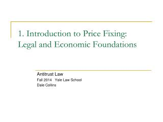 1. Introduction to Price Fixing: Legal and Economic Foundations